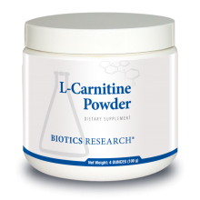 L-Carnitine Powder, 4 oz / 100 g